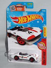 Hot Wheels 2016 Target Snowflake Card #102 Corvette Grand Sport Roadster White