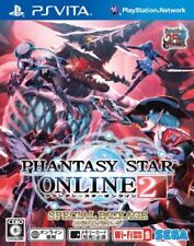 Used PS VITA Phantasy Star Online 2 Special Package JAPAN IMPORT OFFICIAL