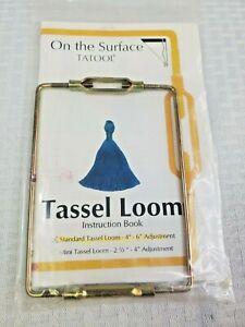 """On the Surface Tatool Tassel Loom Standard Tassel 4""""-6"""" Inch Adjustable Frame"""