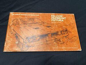 NOS XB GT MANUAL BLANK 1975 Falcon Fairmont Gs Fomoco Ford Gtho