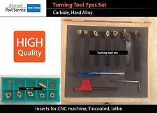X7 8mm Carbide indexable lathe cutting turning tool holder CNC insert Boring Bar