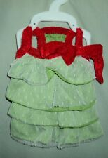 Martha Stewart Red / Green Christmas Halloween Dog Costume Shirt Size Xs