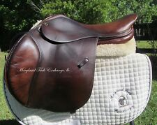 "17/17.5"" TAD COFFIN A5G close contact english jumping saddle- medium tree-2004"