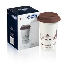 Tazza da Latte CERAMICA per Cappuccino Caffè Bicchiere Decorata Termica Colorata