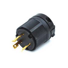 NEMA L6-30P 250V 30 amp Industrial Twist Lock Male Plug (2-Pole 3-Wire)