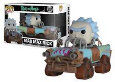 Funko POP! Rides Animación RICK & Morty MAD MAX RICK #37 Vinyl Figura