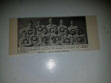 Geneva Ohio High School 1907 Football Team Picture VERY RARE!