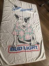 1986 Spuds Mackenzie Bud Light Beach Towel