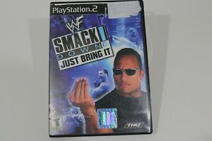 WWE SmackDown Just Bring It Wrestling Video Game PlayStation 2 PS2 Complete
