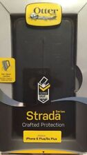 OtterBox STRADA iPhone 6s Plus iPhone 6 Plus Leather Wallet Card Slot Case Black