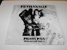 """EUTHANASIE - """"Prison Pain"""" LP. German anarcho punk."""