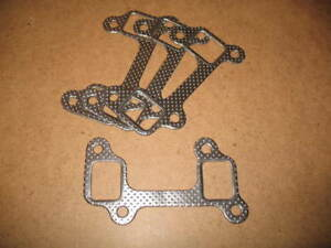 Metallic gaskets for ROVER V8 headers, large port MS22A