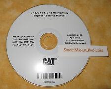 RENR2320 NEW Cat C15 C16 C18 Truck Engine Factory Service Repair Shop Manual OEM