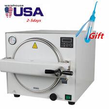 18l Dental Autoclave Steam Sterilizer Medical sterilization+Dental Flosser UPS