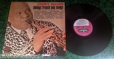 "LP 30cm * SIDNEY BECHET "" SWING FRENCH POP SONGS"" *< VOGUE  CLVLX 403 < 1966"