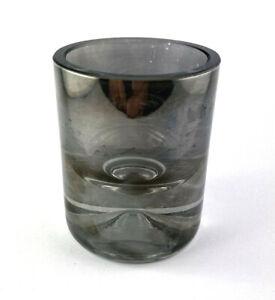 Tealight Holder Tea Light Glass Silver Grey Lantern Heavy Cheap