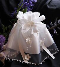 Taufe * Kommunion* Kerzentuch* Kerzenrock  in weiß
