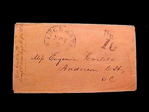 Civil War Confederate COVER From Orro Rifles Soldier S.C.Vols To Winchester VA