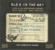 Live At Boarding House * by Old & In the Way (CD, Feb-1996, Acoustic)  Signed