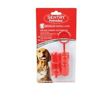 Petrodex Finger Toothbrush for Dogs - 2 pk - design for hard to reach back teeth