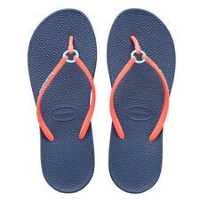 Sandali e scarpe blu Havaianas per il mare da donna