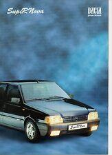 Dacia SupeRNova _2001 Prospekt / Brochure