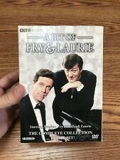 A Bit of Fry & Laurie The Complete Collection Every Bit (DVD, 2007, 4-Disc Set)