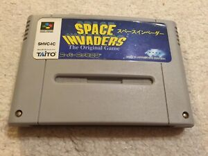 SFC SPACE INVADERS the original game 1994 TAITO SUPER FAMICOM WORLD FREE POST