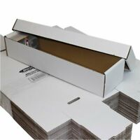 Bundle of 25 -2 Piece Cardboard 800 Ct Baseball Trading Card Storage Boxes