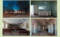 Creepy Insane Asylum 4 PHOTO Lot, Bryce Mental Hospital AL Scary Weird Photos