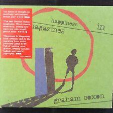 GRAHAM COXON: HAPPINESS IN MAGAZINES  2004 EMI CD  Digipak  Psych-pop