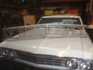 American Ford Galaxie 500 1964 Grill with Emblem.