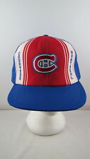 Montreal Canadiens Hat (VTG) - Ted Fletcher Classic Trucker - Adult Snapback