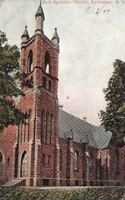 Postcard Holy Apostles Church Rochester NY