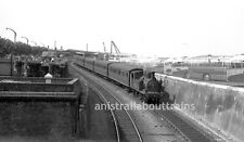 4 Original 35mm b/w negatives Isle of Wight steam O2 Class British Railways 2