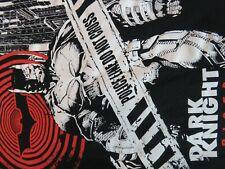 DC Comics BATMAN THE DARK KNIGHT RISES BLACK T-SHIRT. SIZE Medium