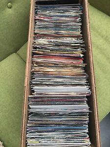 """Job lot 172 x soul, funk and disco vinyl 7"""" records."""