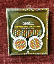 ivibe Stereo Headphones Impressions Collection for iPod, iPhone, MP3, New in Box