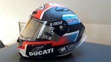 Danilo Petrucci helmet Ducati race used original helmet / Valentino rossi helmet