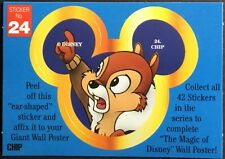 Vintage Stickers - Disney - Chip #24 - Mint Condition!!