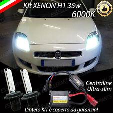 KIT XENON XENO H1 6000K 35W PER FIAT CROMA RESTYLING ULTRALUMINOSI NO AVARIALUCI
