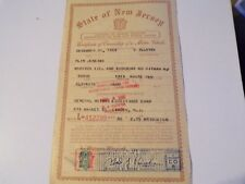 1953 Dodge Route Van 1 Ton Certificate Of Title Historical  Document  Rat Rod