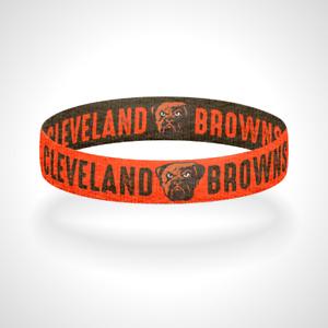 Reversible Cleveland Browns Bracelet Wristband Dawg Pound Believeland