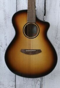 Breedlove ECO Discovery S Concert Edgeburst CE Acoustic Electric Guitar