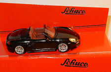 MICRO METAL DIE CAST SCHUCO 3 INCHES 1/64 PORSCHE BOXSTER S 981 NOIRE IN BOX