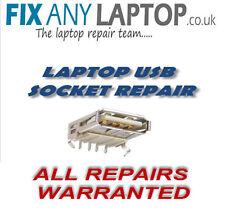 TOSHIBA - HP - COMPAQ - DELL - ADVENT USB SOCKET PORT REPAIR SERVICE