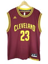 Adidas LeBron James Men's Cleveland Cavaliers NBA Jersey Shirt Top Size M