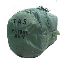T.A.S. PATROL MK V -12 DEGREE MILITARY SLEEPING BAGS 235x80x50CM