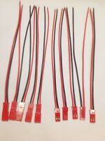 5 Paar JST BEC Stecker und Buchse  an  AWG22 Kabel 14cm ESC RC Lipo Akku