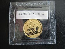 2009 Gold China Panda, 1/10 oz. 50 Yuan, No Reserve